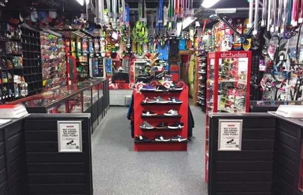 Skatepark shop