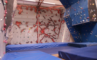 Original climbing wall